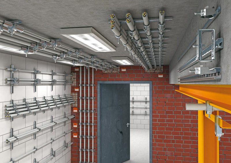 изделия для крепления трубопроводов