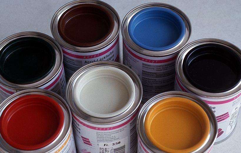 краска для порошковой окраски