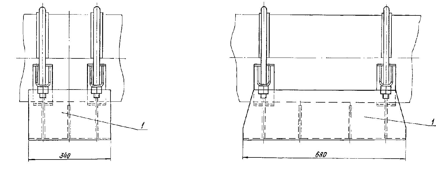 Опора ТС-626.000 2 и 3 рисунки