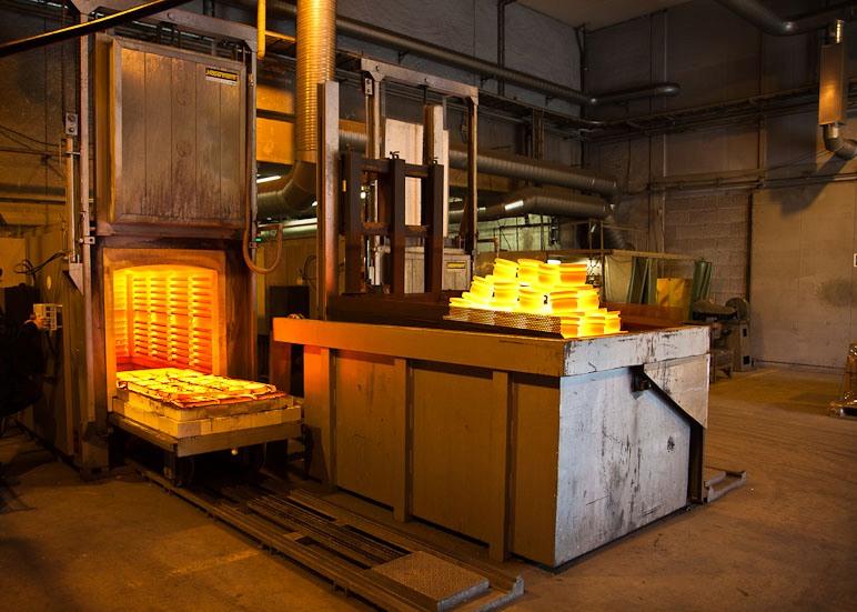Термообработка металла в СПб