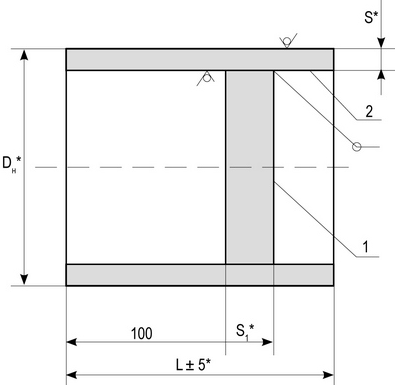 Заглушки плоские ОСТ 34.10.758-93 (97)