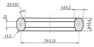 прокладки восьмиугольного сечения ост 26.260.461-99