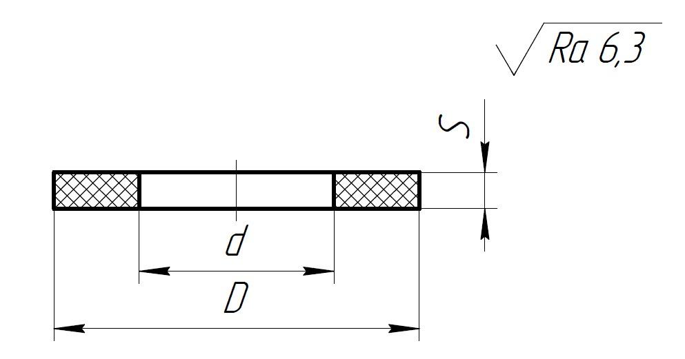 прокладки из фторопласта-4