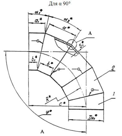 отвод ОСТ 34-10752-97